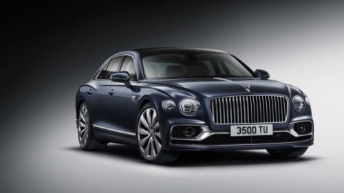 The 2020 Bentley Flying Spur is a 207mph luxury rocket ship