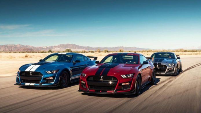 2020 Ford Mustang Shelby GT500 is a 760 horsepower beast