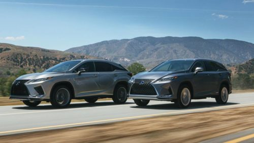 2020 Lexus RX gains new F Sport Performance Package