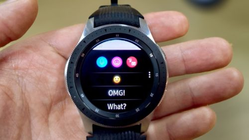 Samsung Galaxy Watch and Whatsapp: How to send and reply to texts