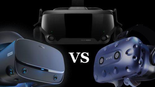 Valve Index vs HTC Vive Pro vs Oculus Rift S: the VR headset showdown