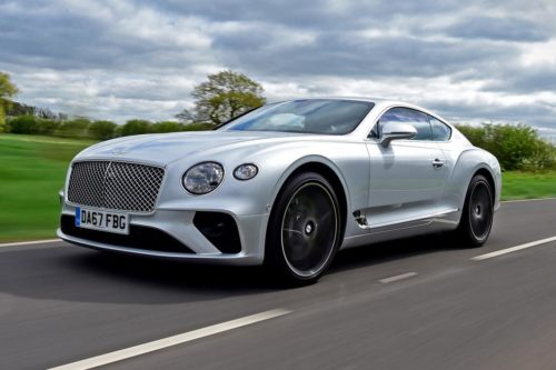 Bentley Continental GT will try to break the production-car record at Pikes Peak