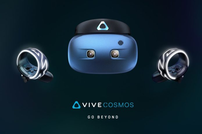 HTC reveals final Vive Cosmos design: Six cameras, flip-up visor, and more