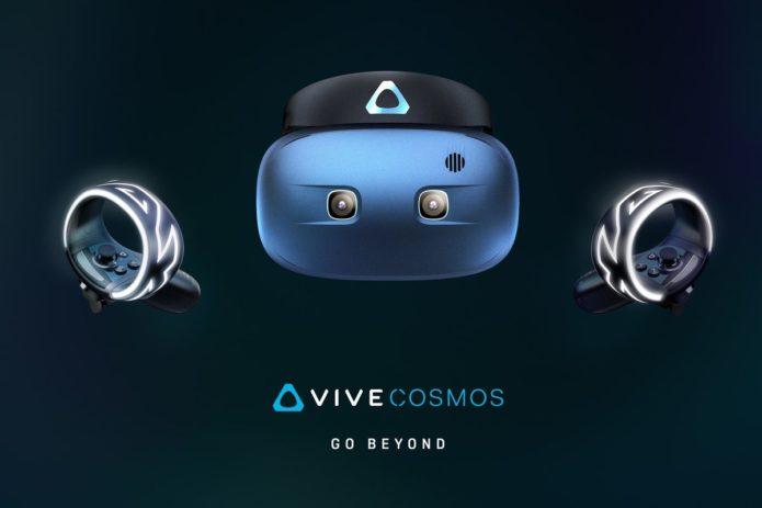 HTC reveals final Vive Cosmos design: Six cameras, flip-up visor, and more