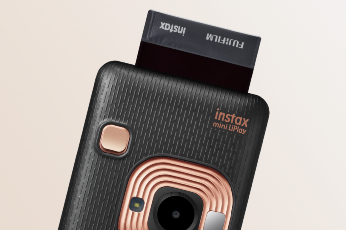 Fujifilm's Instax Mini LiPlay adds audio to instant photos (for some reason)