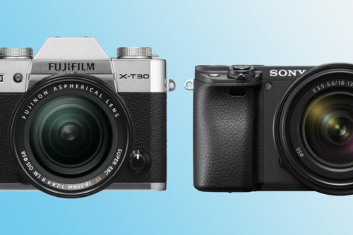 Fujifilm X-T30 vs Sony A6400: which should you buy?