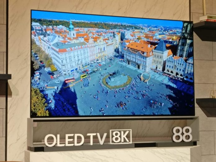 World's first 8K OLED TV goes on sale from LG this week