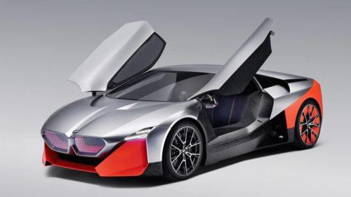 BMW Vision M NEXT is an anti-autonomous 600hp hybrid concept