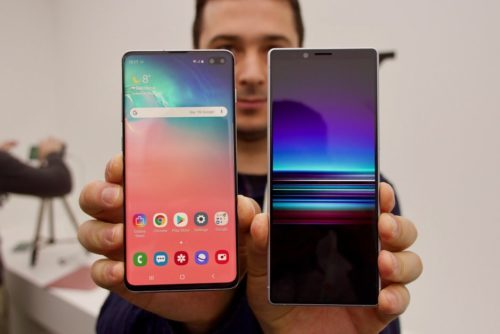 Sony Xperia 1 vs. Samsung Galaxy S10+ Comparison
