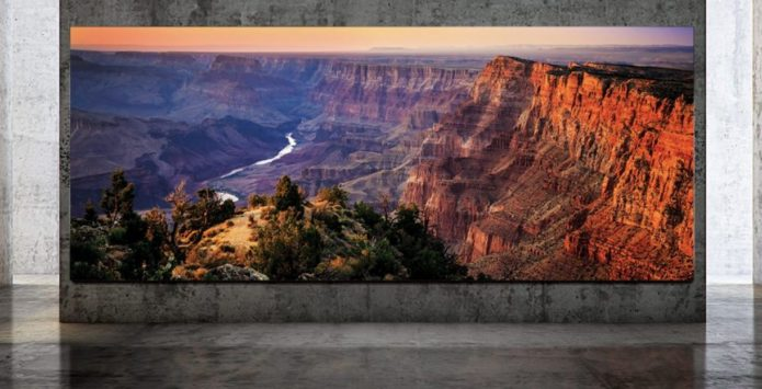 Meet Samsung's 293-inch 8K The Wall Luxury TV – coming to a mansion near you