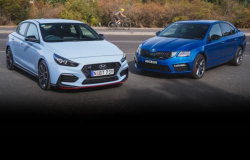 2019 Hyundai i30 Fastback N v Skoda Octavia RS Sedan comparison : Liftback face-off