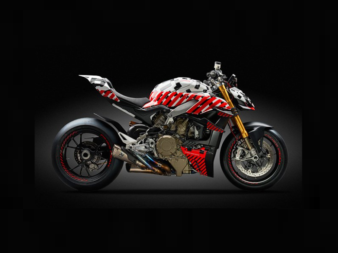 2020 Ducati Streetfighter V4 Prototype To Race Pikes Peak International Hill Climb