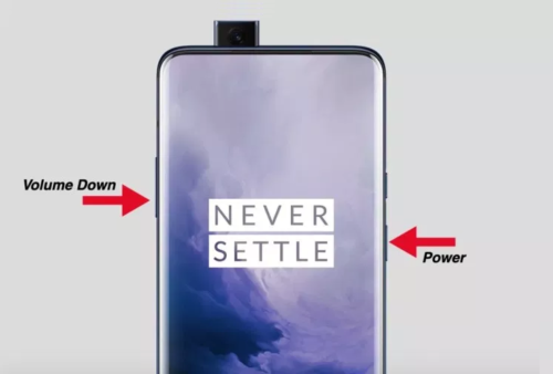 How to Take a Screenshot on the OnePlus 7 Pro