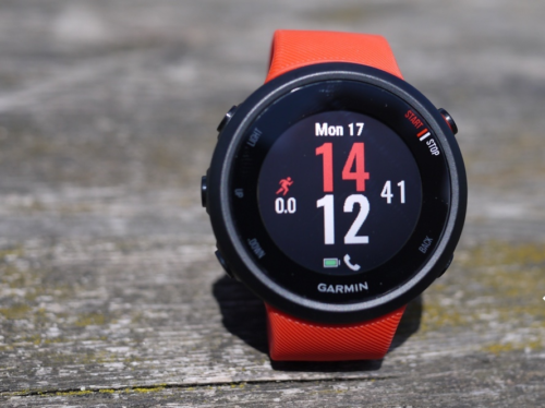 Garmin Forerunner 45 review : This stripped back watch belies its price