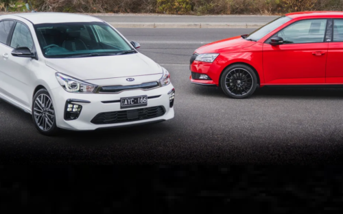 2019 Kia Rio GT-Line v Skoda Fabia Monte Carlo comparison : Punchy pocket hatches square off