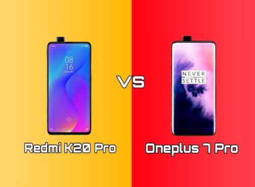 OnePlus 7 Pro Vs Xiaomi Redmi K20 pro: Detailed Comparison