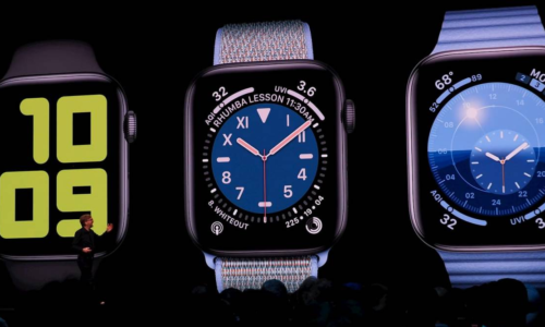 Apple Watch gets new faces, Apple apps in watchOS 6
