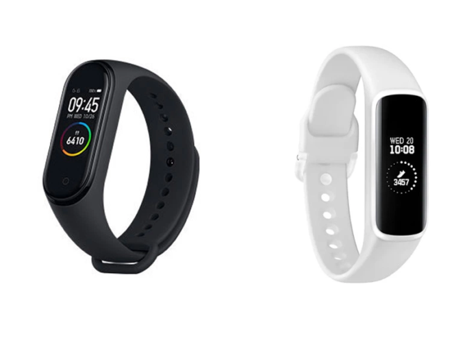 Samsung Galaxy Fit e vs Xiaomi Mi Band 4: Key specifications, features and price difference