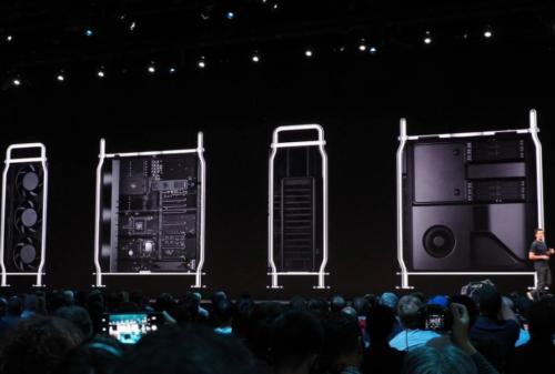 2019 Mac Pro modular system in detail
