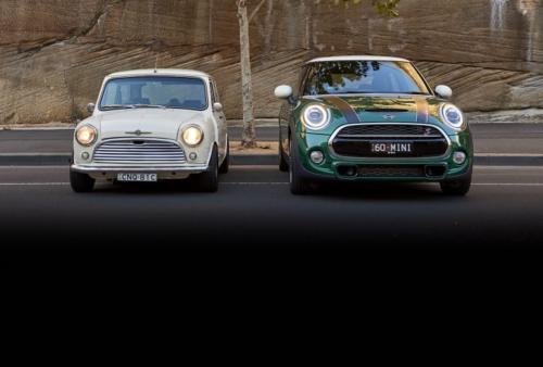 Old v New: 1969 Morris Mini K v 2019 MINI Cooper S 60 Years Edition
