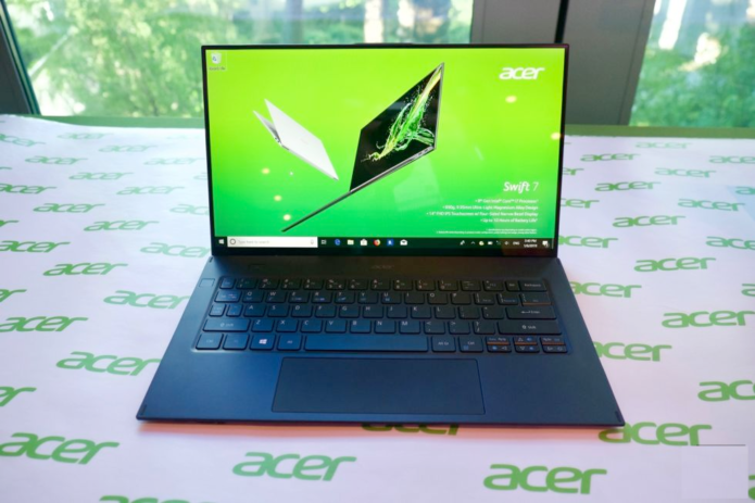 Acer Swift 7 (2019) Review: The impossibly thin ultrabook