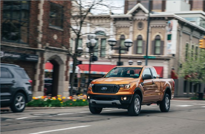 The 2019 Ford Ranger XL SuperCab Is Cheap and Quick