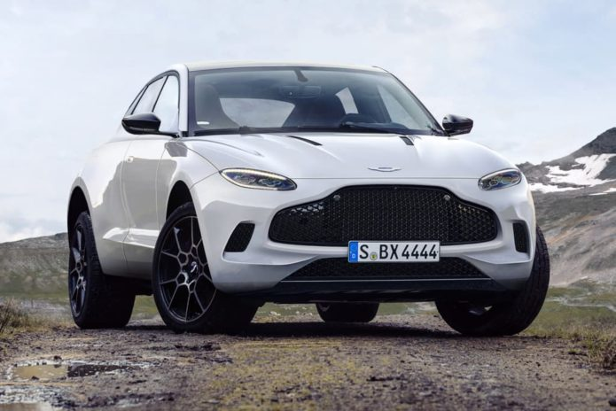 Aston Martin DBX revealed (in late 2019)