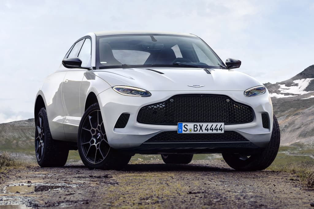 Aston Martin DBX revealed (in late 2019) | GearOpen