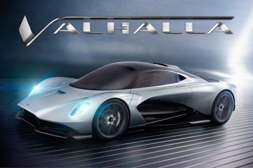 Aston Martin Valhalla christened