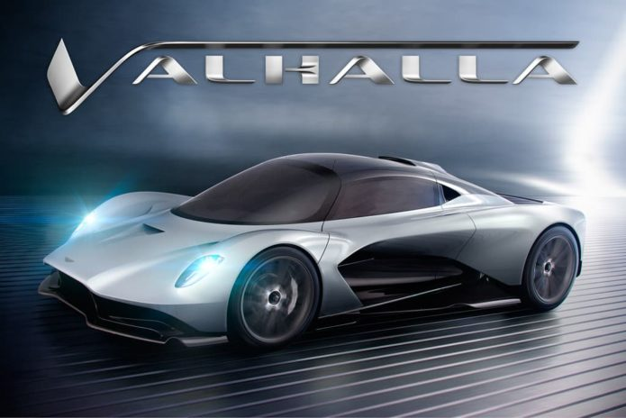 Aston Martin Valhalla christened