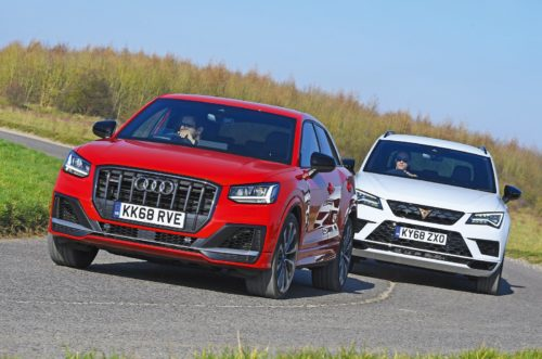 New Audi SQ2 vs Cupra Ateca Comparison