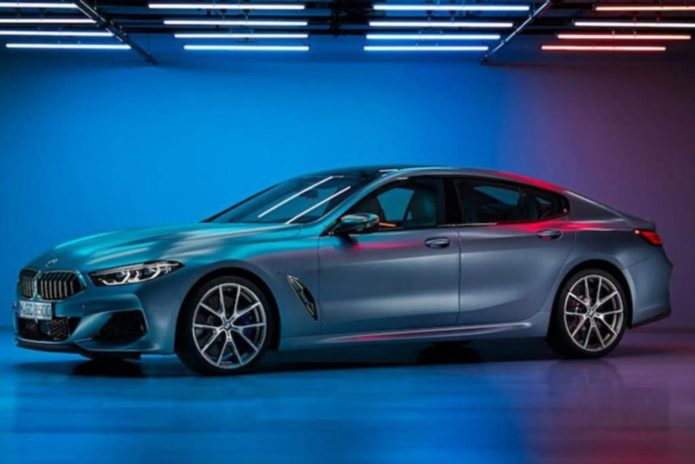 2019 BMW 8 Series Gran Coupe leaked early