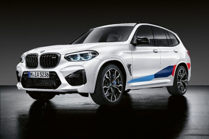 M Performance Parts released for BMW X3 M and BMW X4 M