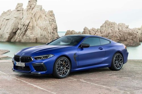 BMW M8 and M8 Competition revealed