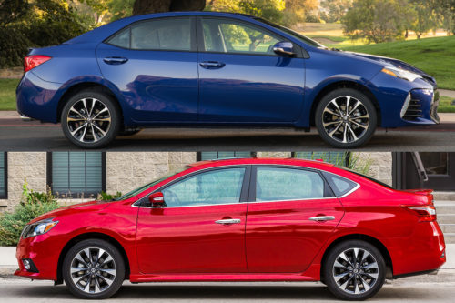 2019 Toyota Corolla vs. 2019 Nissan Sentra: Which Is Better?