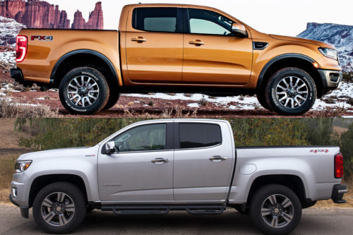 2019 Ford Ranger vs. 2019 Chevrolet Colorado: Which Is Better?