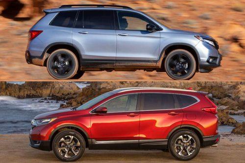 2019 Honda Passport vs. 2019 Honda CR-V: What's the Difference?
