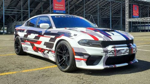2020 Dodge Charger Widebody adds grip to tame massive Hemi power