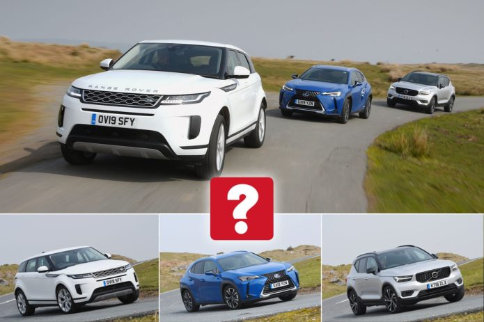 New Lexus UX & Range Rover Evoque vs Volvo XC40 Comparison