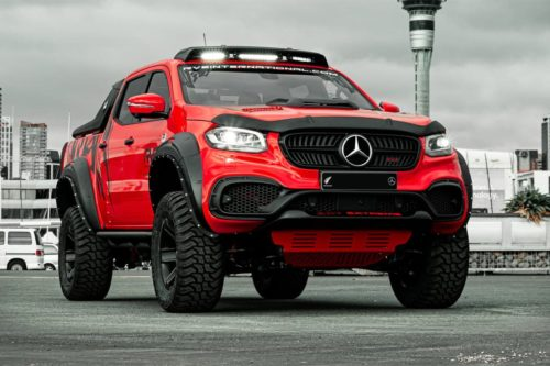 Mercedes-Benz X-Class EXY Extreme comes to Oz