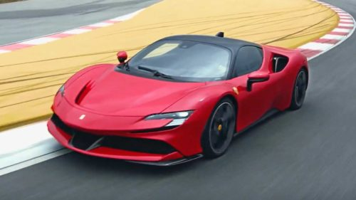 Ferrari's SF90 Stradale, its most powerful road car ever, is a plug-in hybrid