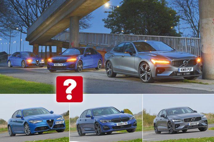 New Volvo S60 vs BMW 3 Series vs Alfa Romeo Giulia