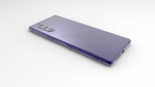 Mysterious new triple camera Sony smartphone leaked – could it be a new Xperia 1?