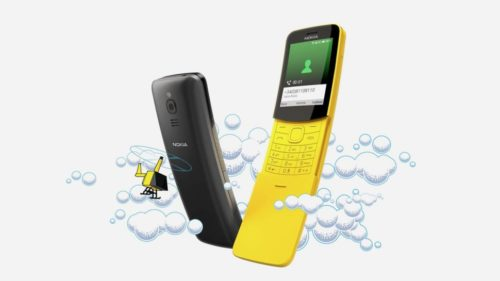 WhatsApp slides onto the Nokia 8110 4G phone