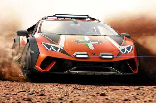 Lamborghini Huracan Sterrato concept is radical