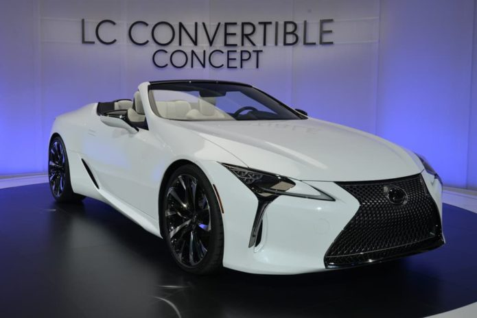 Lexus LC Convertible confirmed