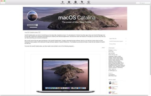 10 Things to Do Before Installing the macOS Catalina Beta