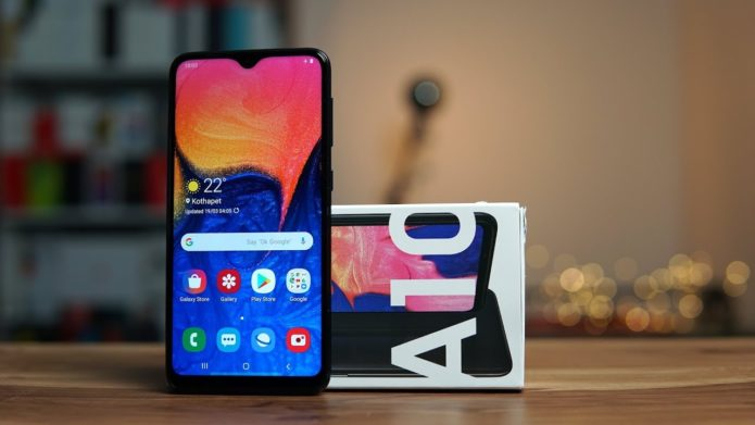 Samsung Galaxy A10 Hands-on Review