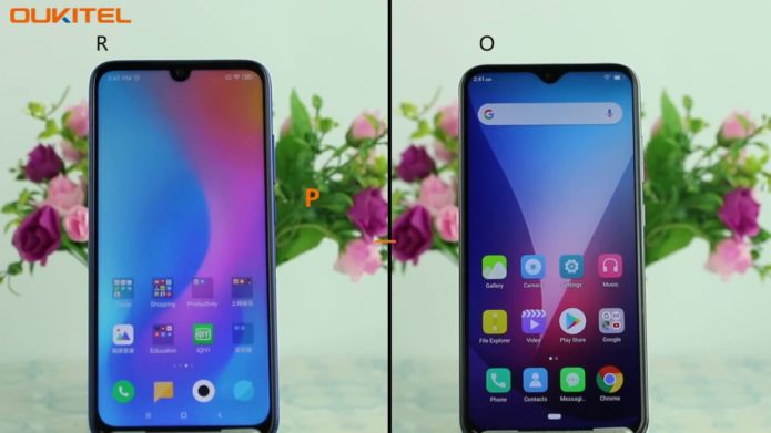 OUKITEL Y4800 VS Redmi Note 7 Pro Hands-On Review