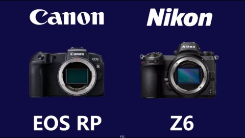 Canon EOS RP vs. Nikon Z 6: Which company does entry-level mirrorless best?